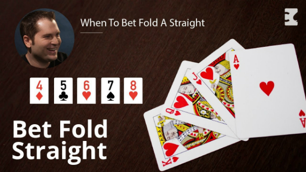 When To Bet Fold A Straight