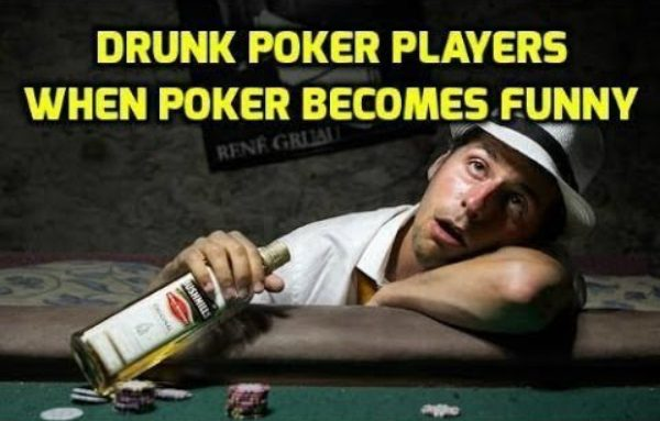 Drunk Poker Players – When Poker Becomes Funny