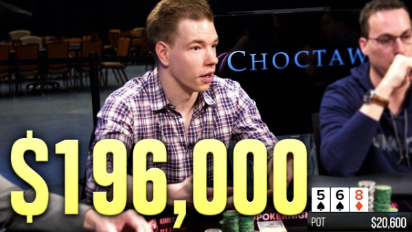 This Will Make You Cry… Devastating Poker Hand For $196,000