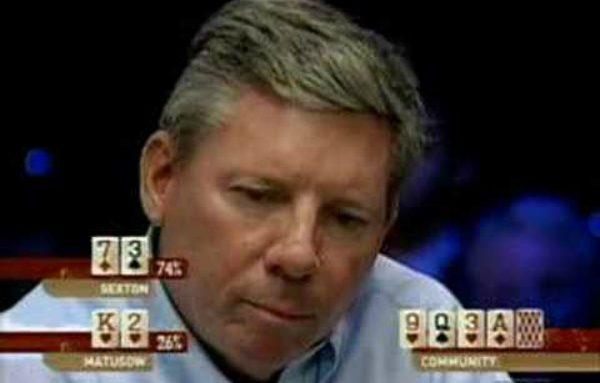 Mike Sexton Makes Sick Call Against Matusow