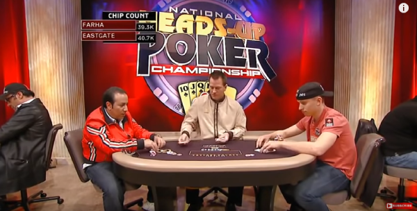 Amazing Poker Hands of Two Legendary Players on Big Tournament