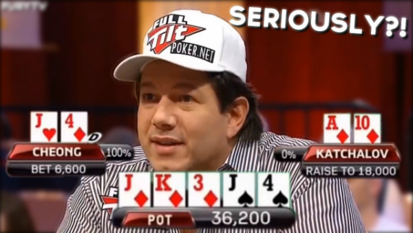 When You Flop A Monster Poker Hand And Still Lose!