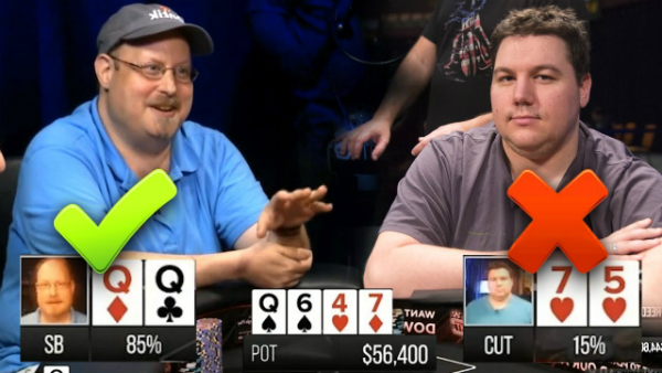 Getting Top Set In A 3-Way $56,400 Poker Pot