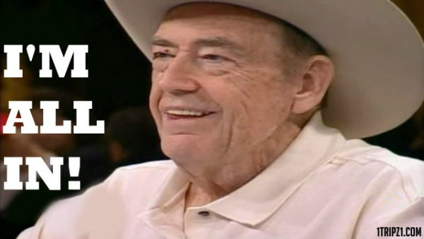 Doyle Brunson Masterclass in Power Poker! Legendary!
