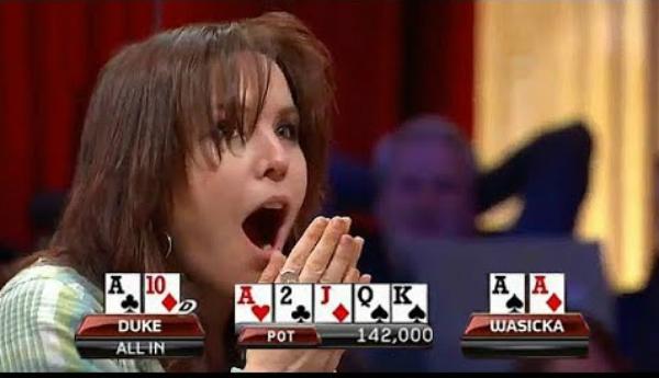 Charming Girl, Annie Duke Mocks Pokerchampion