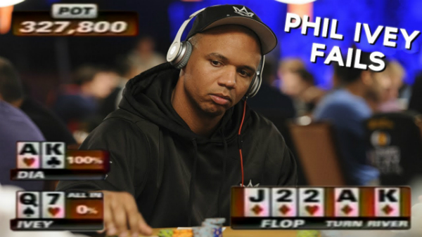 Even Phil Ivey Makes Mistakes!
