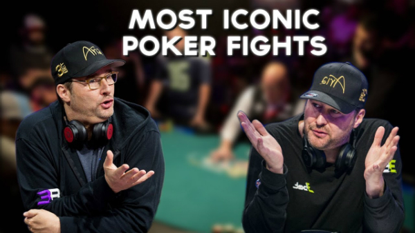 Top 4 Most Iconic Poker Fights of All Time