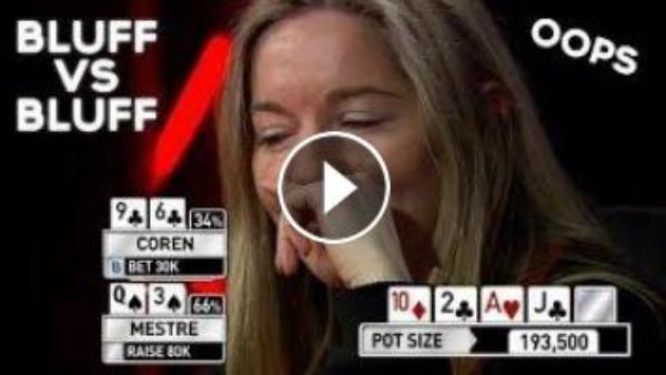 Top 3 Bluff Vs Bluff Poker Hands Ever!