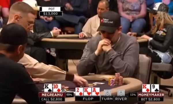 Legendary Daniel Negreanu Vs Moneymaker Poker Heads Up