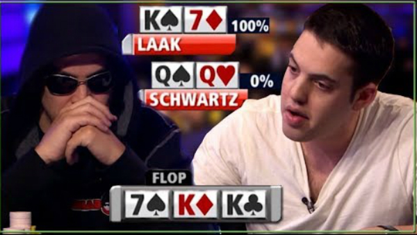 When You Flop a Full House and Get Action!