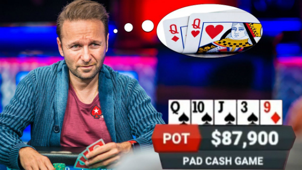 Playing With a Premium Poker Hand Against Daniel Negreanu