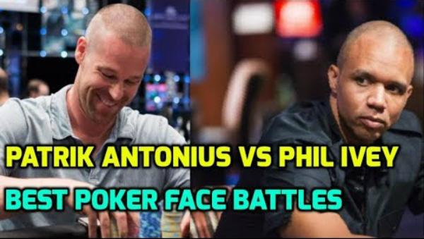 Patrik Antonius vs Phil Ivey – Best Poker Face Battles