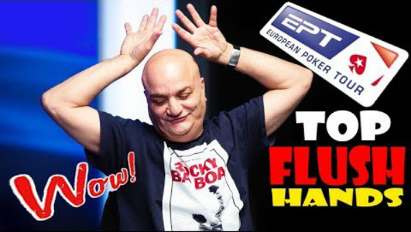 The Craziest Poker Flush Hands on Final Table EPT SOCHI 2019