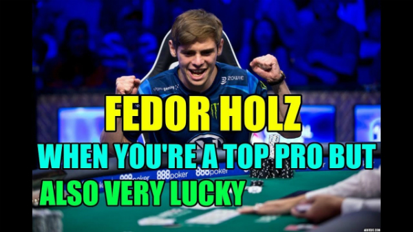 When You're a Top Pro But Also Very Lucky