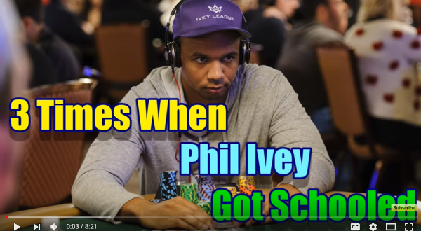 3 Times When Phil Ivey Got Schooled!