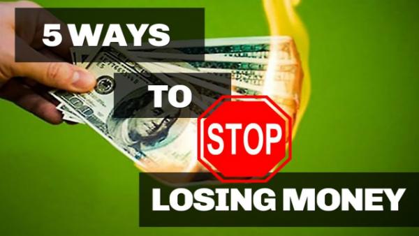 5 Ways to Stop Losing Money in Poker