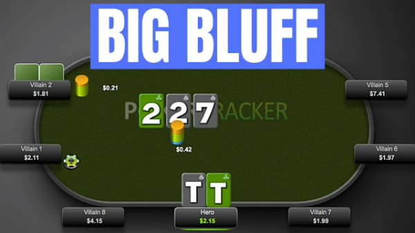Running a Big Bluff at the Micros – Would You Do This?
