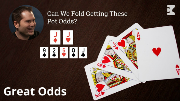 Can We Fold Getting These Pot Odds?