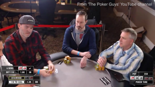 A Fold Based on a Common Verbal Poker Tell