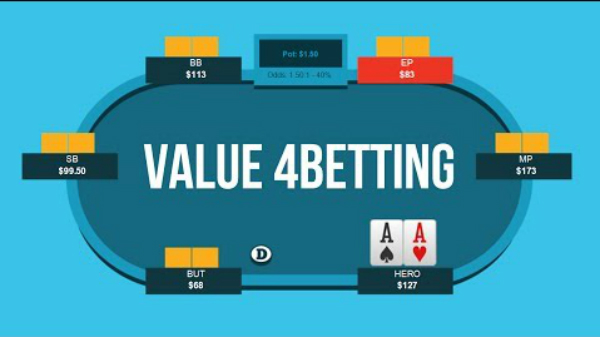 How To 4-Bet For Value Preflop