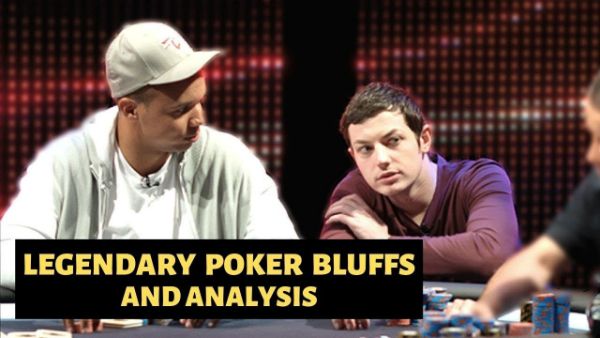 Legendary Poker Bluffs and Analysis featuring Tom Dwan and Phil Ivey