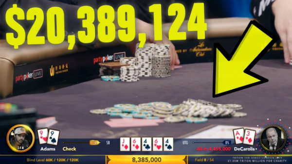 The Biggest Poker Game Of All Time (Insane Bluff)