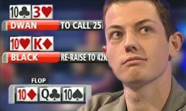 Trips vs. Trips: A Brutal Poker Cooler