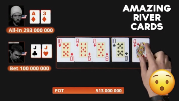 Top 5 Craziest Poker River Cards Ever