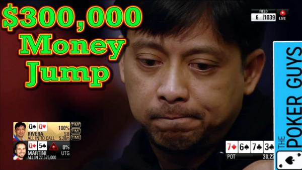 Poker Breakdown:  Did He Let the 300k Money Jump Get to Him?