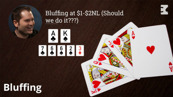 Bluffing at $1-$2NL (Should we do it?)