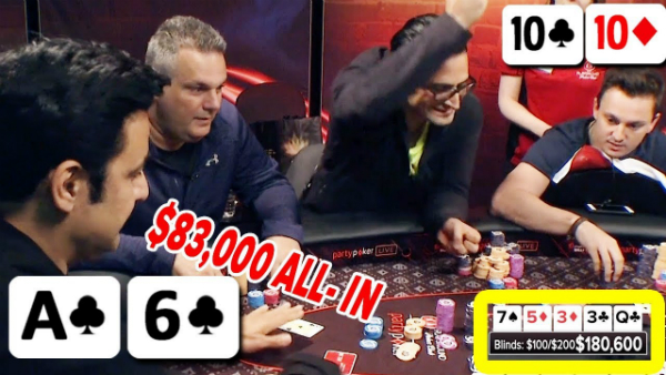$83,000 Bluff Vs. Top Pro Antonio Esfandiari