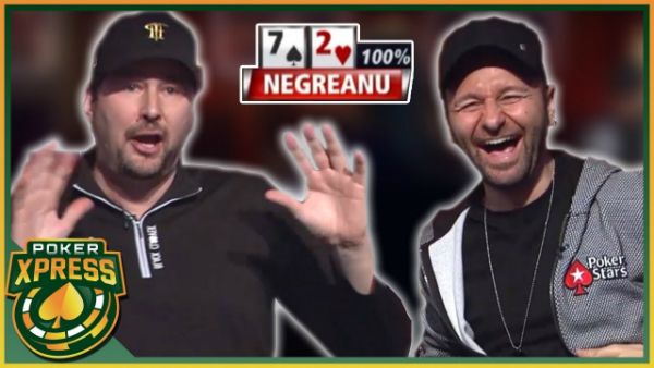 Daniel Negreanu Gets Phil Hellmuth Steaming in Three Successive Hands