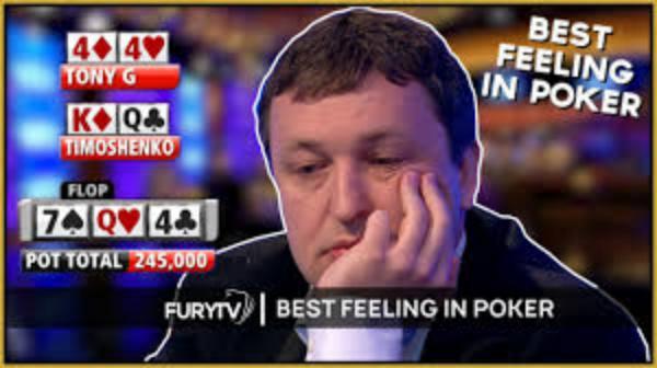 The Best Feeling In Poker – Flopping a Set