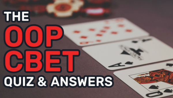 C-Betting OOP Poker Quiz & Answers