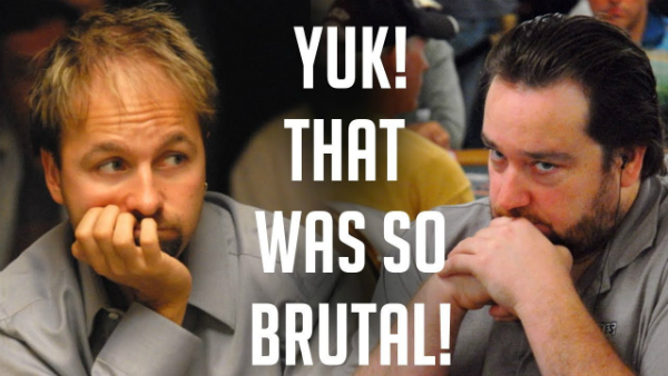 Negreanu Plays Intense Heads Up Poker Battle