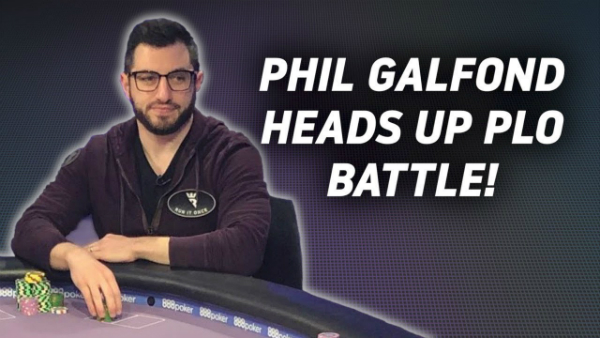 Phil Galfond Heads Up PLO Battle on Run It Once Poker