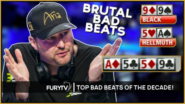 Most Brutal Poker Bad Beats of the Decade