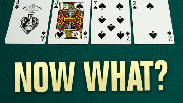 Four to a Flush on the Turn: How to Proceed