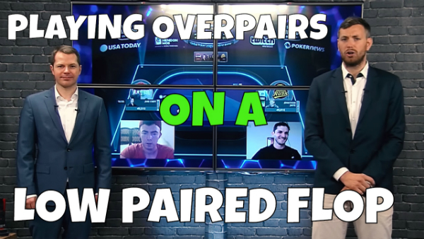 Playing Overpairs On A Low Paired Flop