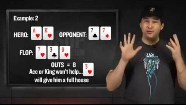 Poker Math Calculating Outs Poker Pro Tips