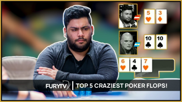 Top 5 Craziest Poker Flops of All Time