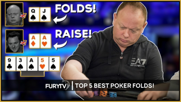 Top 5 Most Amazing Poker Folds Ever