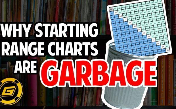 Why Poker Starting Range Charts are Garbage