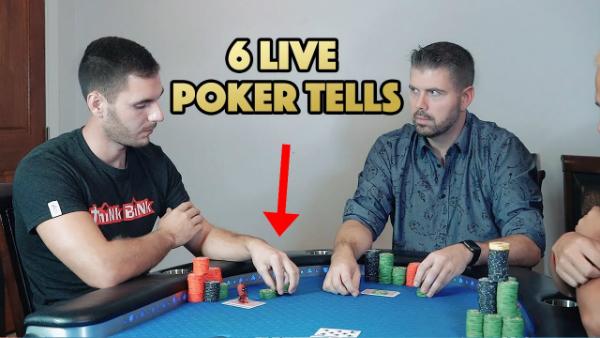 6 Live Poker Tells That Will Make You Money