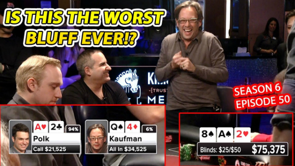 The Worst Bluff in the History of Poker