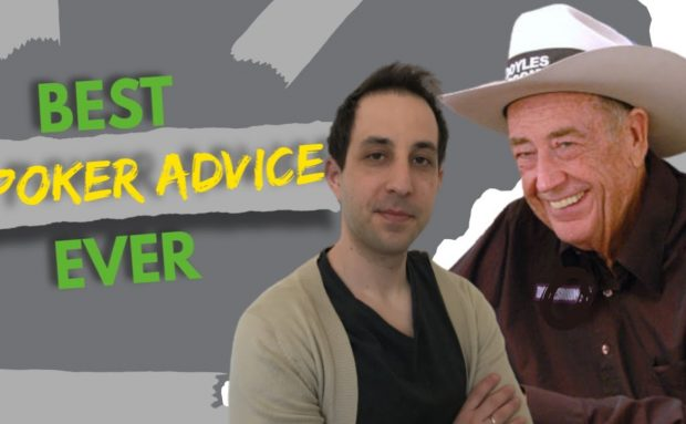 What Doyle Brunson Taught Me: Best Poker Advice Ever