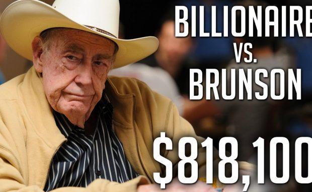 $818,100 Pot Against The Billionaire