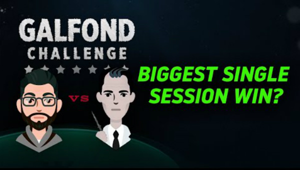 The Single Biggest Winning Session of The Galfond Challenge