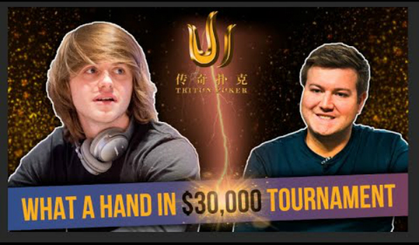 Incredible Hands on Triton Series | Carrel vs Jetten for $30,000