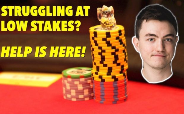 Low Stakes Poker Strategy